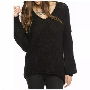 free people oversize pullover sweater